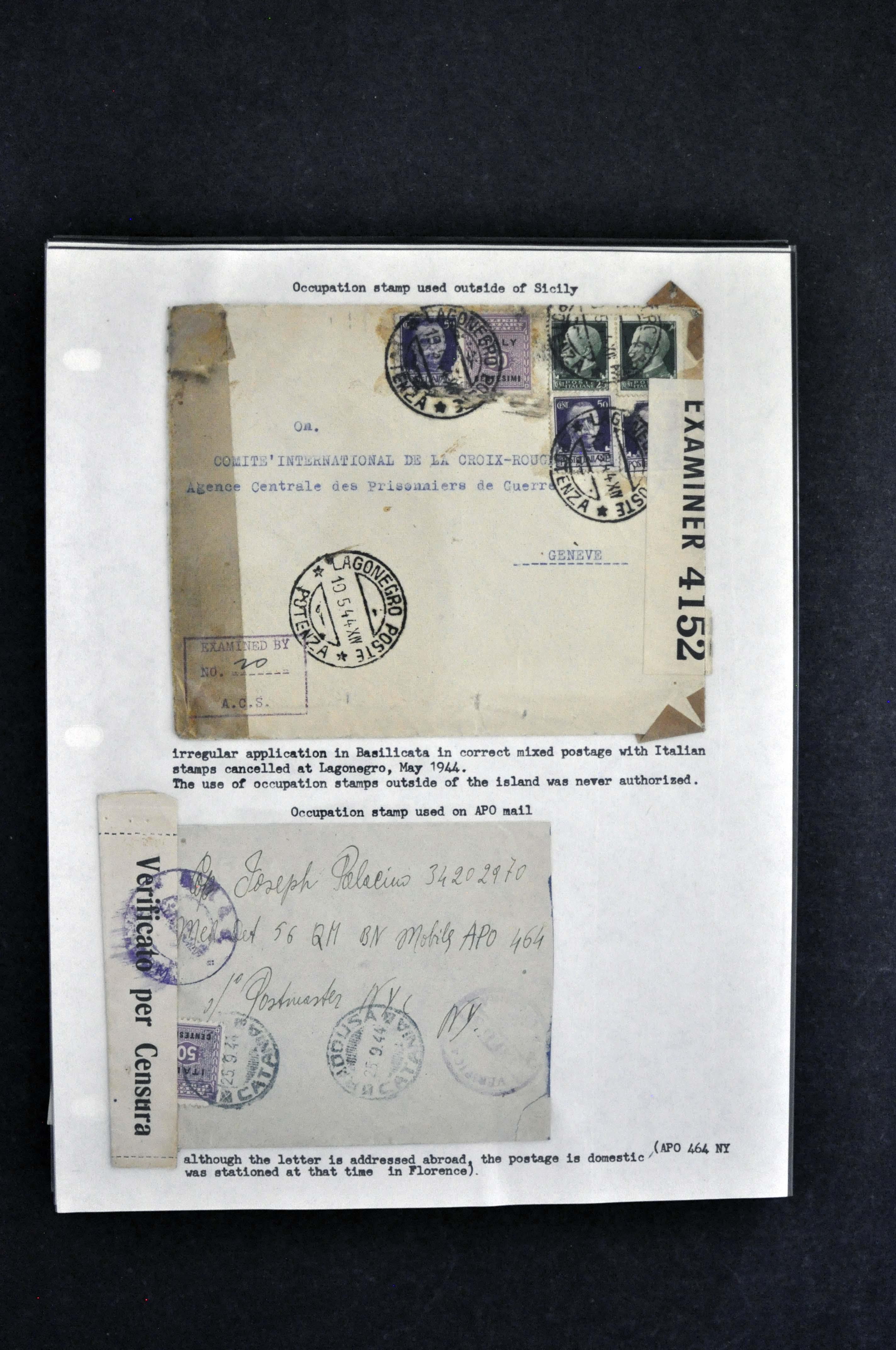 postmarks auxiliary markings censor handstamps and tapes sol rs mail mixed frankings etc generally F VF a terrific collection of these with