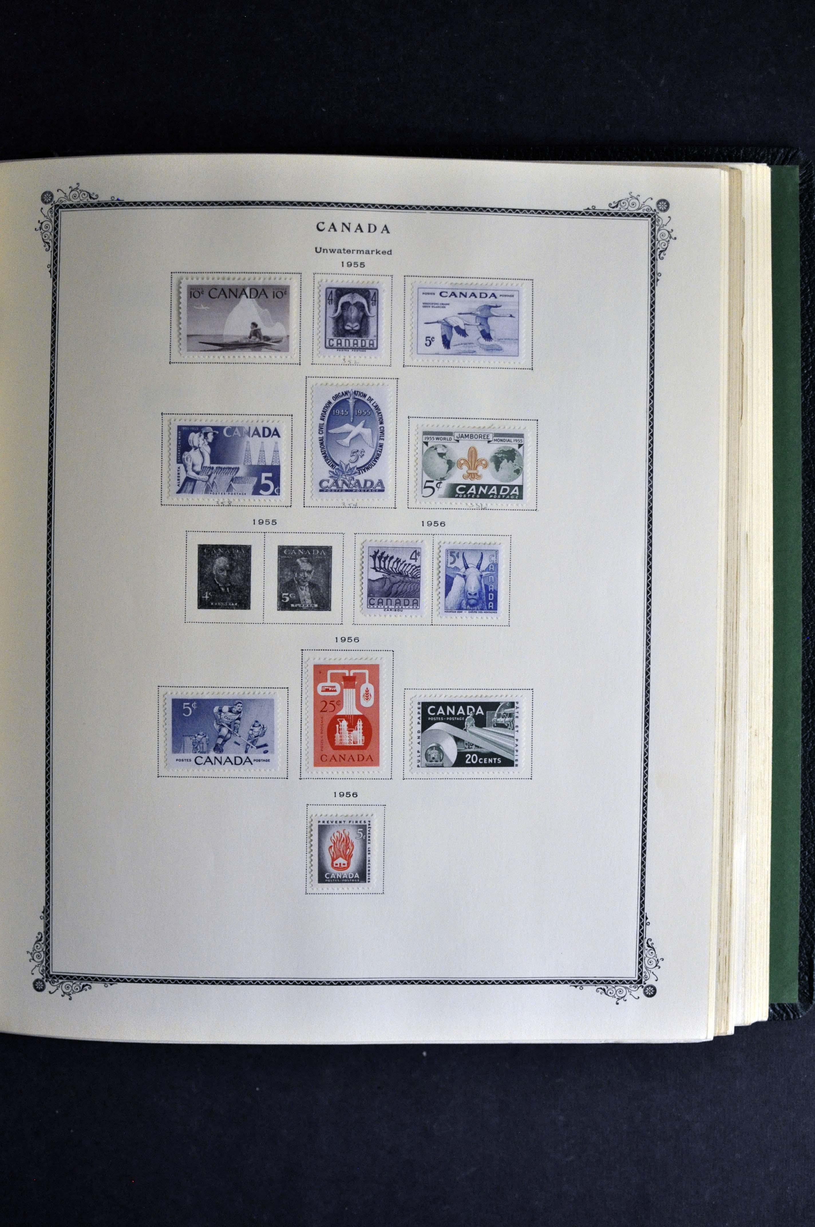 Lovely # 45 Newfoundland 4 Block Mint N H Stamps