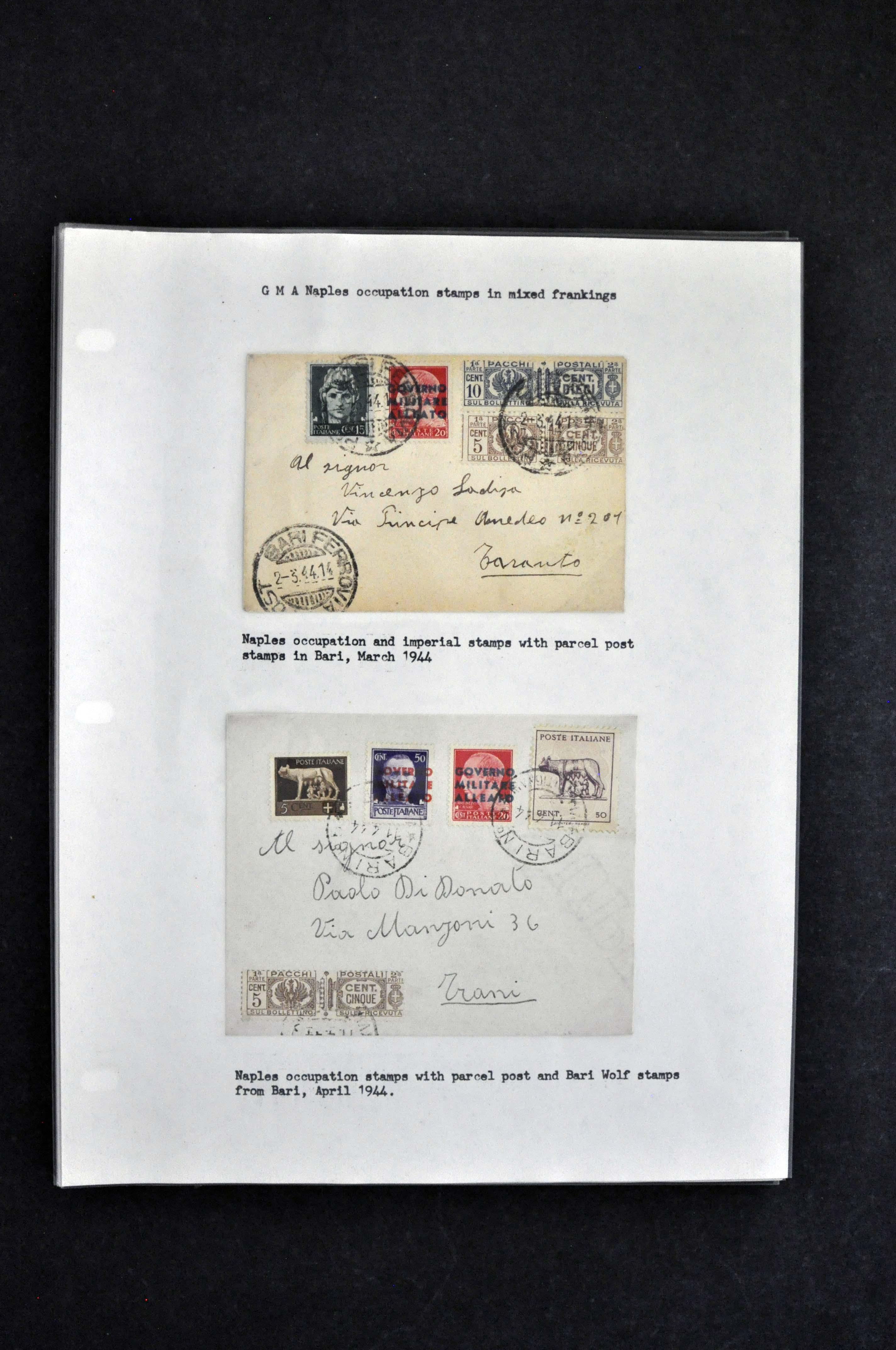 sol rs mail mixed frankings etc generally F VF a terrific collection of these with some signed and or with certificates see online scans Image