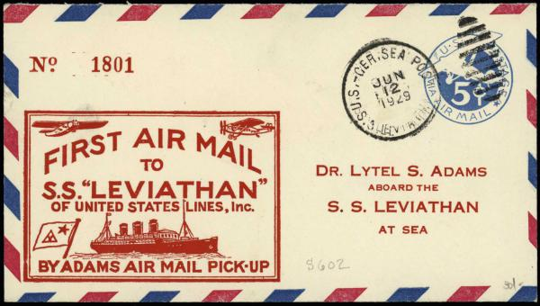 Lot 2287 - United States and Foreign Airmail Covers  -  H. R. Harmer Inc Sale 3031