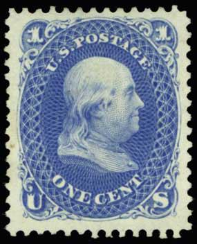 Lot 1099 - United States 19th Century Stamps and Postal History  -  H. R. Harmer Inc Sale 3031