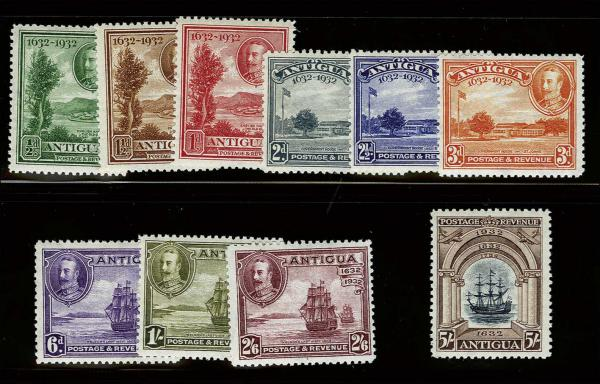 Lot 3015 - British Commonwealth Stamps and Covers antigua -  H. R. Harmer Inc Sale 3036: United States, British Commonwealth,  and Foreign Stamps, Covers and Collections Session 2 & 3: British Commonwealth and Foreign