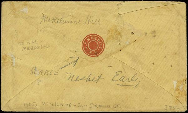 Lot 2720 - Union and Confederate States Civil War Covers Confederate Covers by State -  H. R. Harmer Inc Sale 3036: United States, British Commonwealth,  and Foreign Stamps, Covers and Collections Session 1: United States