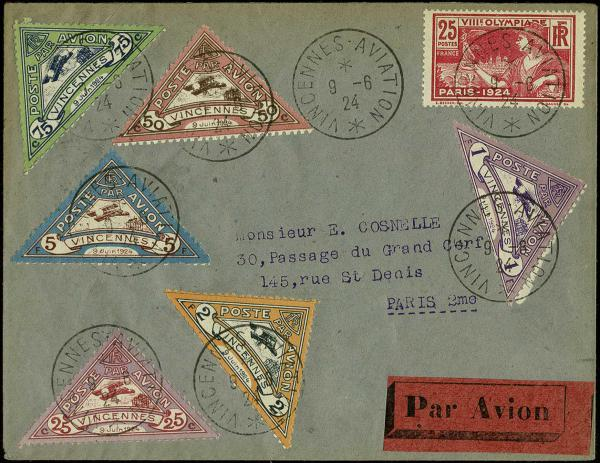 Lot 2795 - United States and Foreign Airmail Covers Foreign Airmails by Country -  H. R. Harmer Inc Sale 3036: United States, British Commonwealth,  and Foreign Stamps, Covers and Collections Session 1: United States