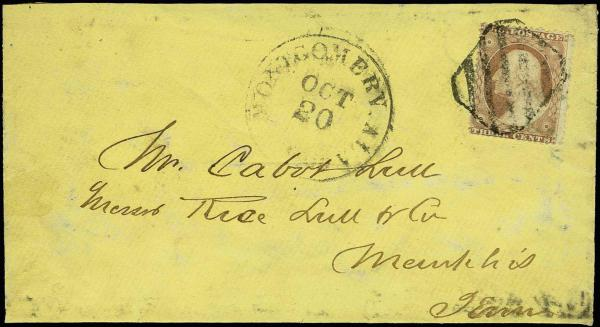 Lot 2031 - United States 19th Century Stamps and Postal History 1857-61 Issue (18-39) -  H. R. Harmer Inc Sale 3036: United States, British Commonwealth,  and Foreign Stamps, Covers and Collections Session 1: United States