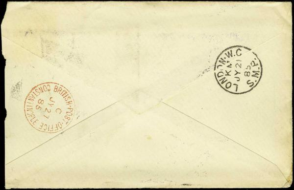 Lot 2712 - united states postal history forwarding agents -  H. R. Harmer Inc Sale 3036: United States, British Commonwealth,  and Foreign Stamps, Covers and Collections Session 1: United States