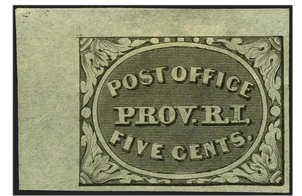 Lot 4 - United States 19th Century Stamps and Postal History Postmasters Provisionals -  H. R. Harmer Inc Sale 3039: The