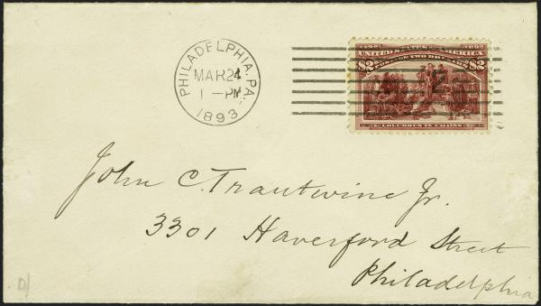 Lot 26 - United States 19th Century Stamps and Postal History 1893 Columbian Exposition Issue (230-245) -  H. R. Harmer Inc Sale 3039: The