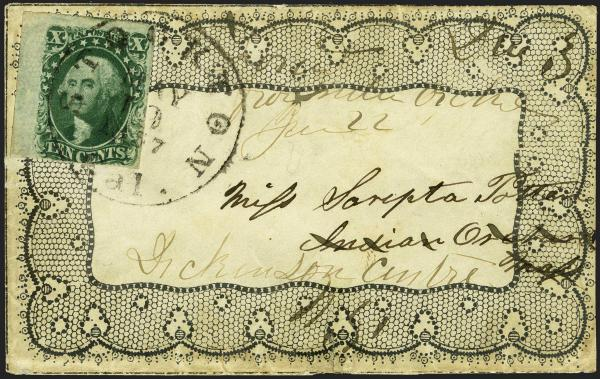 Lot 8 - United States 19th Century Stamps and Postal History 1851-56 Issue (5-17) -  H. R. Harmer Inc Sale 3039: The