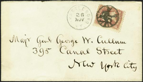 Lot 117 - united states postal history fancy cancels -  H. R. Harmer Inc Sale 3039: The