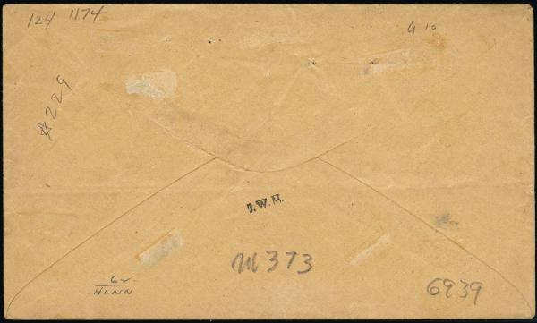 Lot 3016 - united states postal history Steam, Steamboat and Steamship Covers -  H. R. Harmer Inc United States, British Commonwealth, and Foreign Stamps, Covers, and Collections