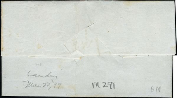 Lot 3013 - united states postal history Steam, Steamboat and Steamship Covers -  H. R. Harmer Inc United States, British Commonwealth, and Foreign Stamps, Covers, and Collections