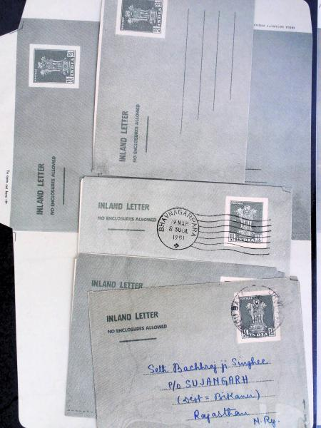 Lot 2265 - British Commonwealth Stamps and Covers india -  H. R. Harmer Inc The Dr. Larry C. Parks Collection of Postal Stationery Part I: British Commonwealth