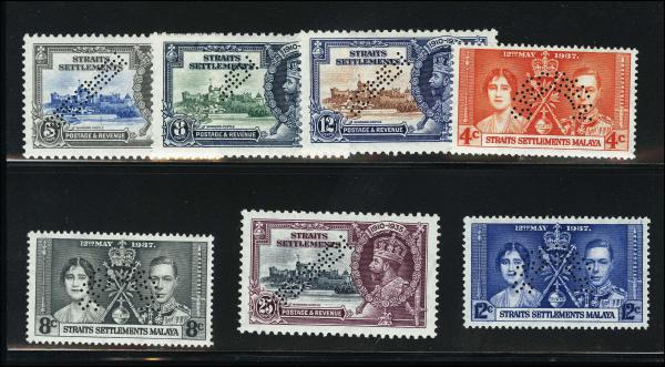 Lot 4291 - British Commonwealth Stamps and Covers straits settlements -  H. R. Harmer Inc United States, British Commonwealth, and Foreign Stamps, Covers, and Collections