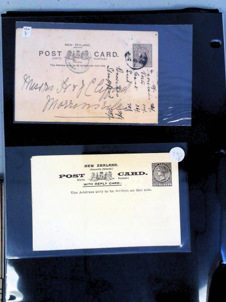 Lot 2342 - British Commonwealth Stamps and Covers New Zealand -  H. R. Harmer Inc The Dr. Larry C. Parks Collection of Postal Stationery Part I: British Commonwealth