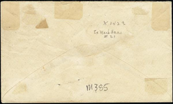 Lot 3017 - united states postal history Steam, Steamboat and Steamship Covers -  H. R. Harmer Inc United States, British Commonwealth, and Foreign Stamps, Covers, and Collections