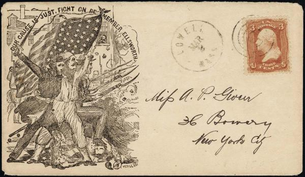 Lot 1078 - United States 19th Century Stamps and Postal History 1861-66 Issue (63-78) -  H. R. Harmer Inc The Ing. Pietro Provera Collection of United States Stamps and Covers Part II