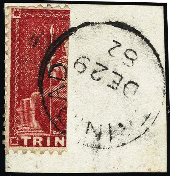 Lot 4296 - British Commonwealth Stamps and Covers trinidad -  H. R. Harmer Inc United States, British Commonwealth, and Foreign Stamps, Covers, and Collections