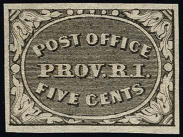 Lot 1004 - United States 19th Century Stamps and Postal History Postmasters Provisionals -  H. R. Harmer Inc The Ing. Pietro Provera Collection of United States Stamps and Covers Part II