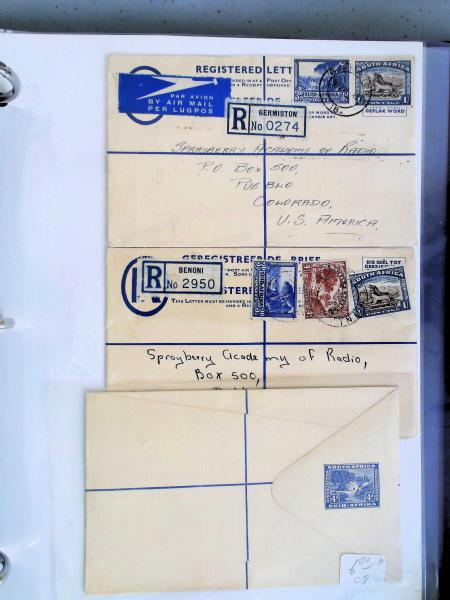 Lot 2368 - British Commonwealth Stamps and Covers south africa -  H. R. Harmer Inc The Dr. Larry C. Parks Collection of Postal Stationery Part I: British Commonwealth