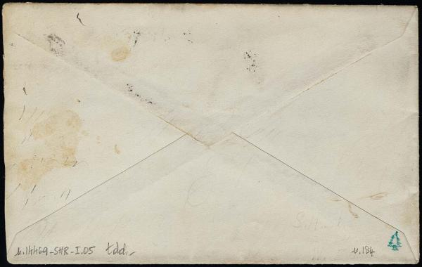 Lot 1135 - United States 19th Century Stamps and Postal History 1879 American Bank Note Soft Paper (182-191) -  H. R. Harmer Inc The Ing. Pietro Provera Collection of United States Stamps and Covers Part II