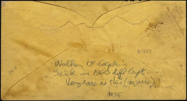 Lot 3007 - united states postal history Steam, Steamboat and Steamship Covers -  H. R. Harmer Inc United States, British Commonwealth, and Foreign Stamps, Covers, and Collections