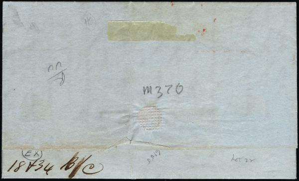 Lot 3015 - united states postal history Steam, Steamboat and Steamship Covers -  H. R. Harmer Inc United States, British Commonwealth, and Foreign Stamps, Covers, and Collections
