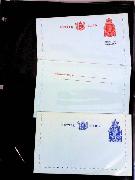Lot 2343 - British Commonwealth Stamps and Covers New Zealand -  H. R. Harmer Inc The Dr. Larry C. Parks Collection of Postal Stationery Part I: British Commonwealth