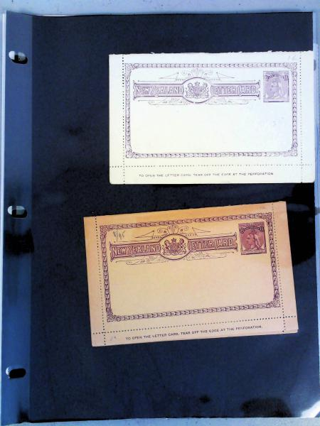 Lot 2345 - British Commonwealth Stamps and Covers New Zealand -  H. R. Harmer Inc The Dr. Larry C. Parks Collection of Postal Stationery Part I: British Commonwealth