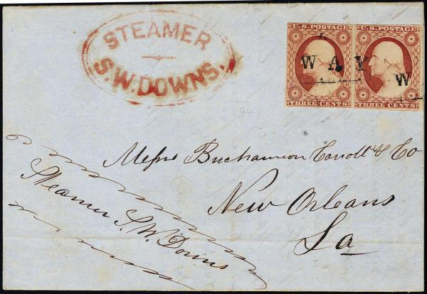 Lot 1026 - United States 19th Century Stamps and Postal History 1851-56 Issue (5-17) -  H. R. Harmer Inc The Ing. Pietro Provera Collection of United States Stamps and Covers Part II