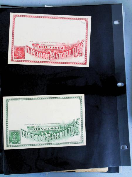 Lot 2372 - British Commonwealth Stamps and Covers southern rhodesia -  H. R. Harmer Inc The Dr. Larry C. Parks Collection of Postal Stationery Part I: British Commonwealth