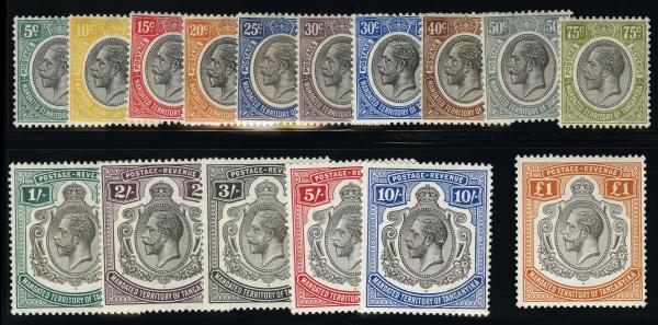Lot 4293 - British Commonwealth Stamps and Covers tanganyika -  H. R. Harmer Inc United States, British Commonwealth, and Foreign Stamps, Covers, and Collections