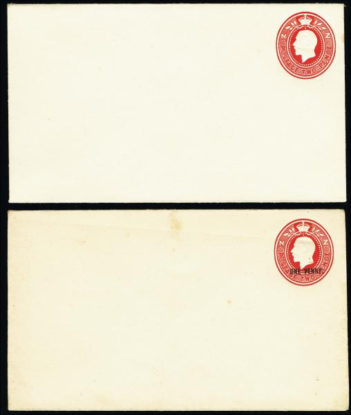 Lot 2341 - British Commonwealth Stamps and Covers New Zealand -  H. R. Harmer Inc The Dr. Larry C. Parks Collection of Postal Stationery Part I: British Commonwealth