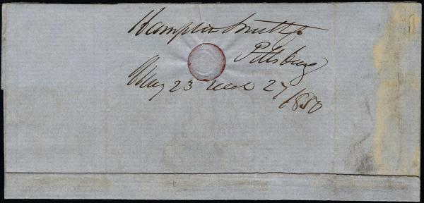 Lot 1016 - United States 19th Century Stamps and Postal History 1847 Issue (1-2) -  H. R. Harmer Inc The Ing. Pietro Provera Collection of United States Stamps and Covers Part II