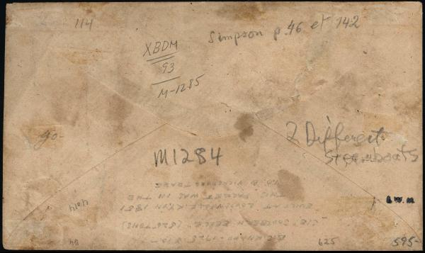 Lot 3030 - united states postal history Steam, Steamboat and Steamship Covers -  H. R. Harmer Inc United States, British Commonwealth, and Foreign Stamps, Covers, and Collections