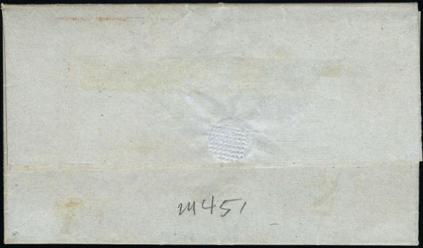 Lot 3018 - united states postal history Steam, Steamboat and Steamship Covers -  H. R. Harmer Inc United States, British Commonwealth, and Foreign Stamps, Covers, and Collections