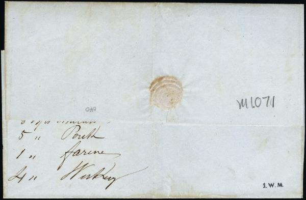 Lot 3025 - united states postal history Steam, Steamboat and Steamship Covers -  H. R. Harmer Inc United States, British Commonwealth, and Foreign Stamps, Covers, and Collections