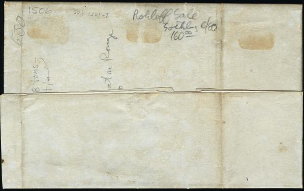 Lot 3024 - united states postal history Steam, Steamboat and Steamship Covers -  H. R. Harmer Inc United States, British Commonwealth, and Foreign Stamps, Covers, and Collections