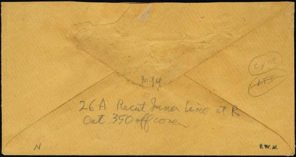 Lot 3006 - united states postal history Steam, Steamboat and Steamship Covers -  H. R. Harmer Inc United States, British Commonwealth, and Foreign Stamps, Covers, and Collections