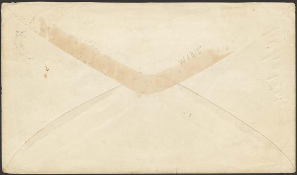 Lot 114 - united states postal history Civil War Covers - Union Patriotic Covers -  H. R. Harmer Inc The
