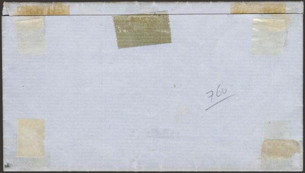 Lot 76 - Confederate States of America Postal History Confederate Postmasters Provisionals -  H. R. Harmer Inc The